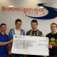 BUSINESS STUDENTS RAISE £900 FOR CHARITY