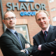 Gary Turley, Finance Director at Shaylor Group with Clive Broadhurst of Finance Birmingham