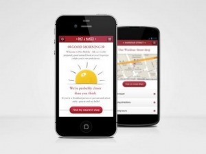 Pret aims to replicate in-store service with mobile site