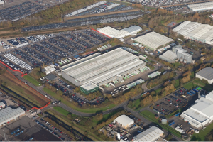 Asda distribution centre in Portbury - Chilling out at one of UK'sleading logistics hubs...