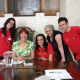 Joan Walley with students of Prince's Trust Team 302