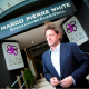 Marco Pierre White outside his Nottingham restauran
