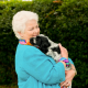 Pam St Clement with hearing dog puppy Bob3