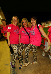 St Peter's Hospice Midnight Walk is a huge success