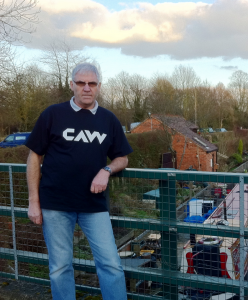 Trevor Langley - preparing for the CAW Canal Walk