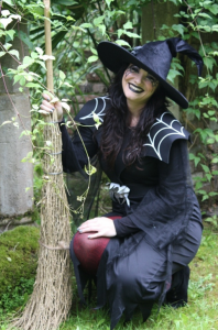 The Witch of Wookey and her broomstick - WITCH QUITS TO BECOME ENTREPRENEUR...