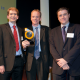 Graeme Wintle and Dunstan Power, Directors of ByteSnap Design - BEEAS presenter Paul Fanning, Editor of Eureka Magazine