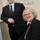 Richard Smithies, partner at Bearders and Maureen Cawthorn, Managing Director of Wilkinson Woodward