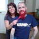 Supporting KEMP Hospice Richie Red and Ready for Live Waxing