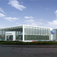 Volkswagen showroom at the Matford Green Business Park near Exeter