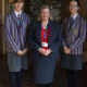 Jenny Bateman, Mrs Judith Mackie-Smith and Alexa Wittkop