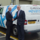 Robert Smith of Bruton Knowles with Steve Evans of Clarkson Evans