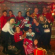 Staff at Alea and Marco Pierre White Steakhouse Bar & Grill in their Christmas jumpers