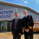 Surgeon Rear Admiral Calum McArthur, Commander Joint Medical Command - SP Services MD Steve Bray