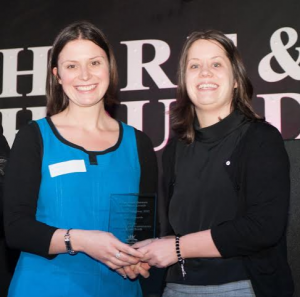 Tracy Williams and Vicky Edwards - Independents Recognised At Kings Heath Business Excellence Awards...