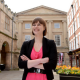 Kirsten Henly, BID Manager of the Shrewsbury Business Improvement District