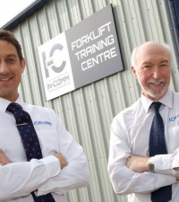 New training centre: Gareth Jones (left), Colin Mills (right)