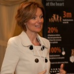 Dani Saveker, CEO and founder of Families in Business, was guest speaker at last night's Goldman Sachs 10,000 Small Businesses Alumni Dinner in Birmingham.