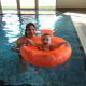 Supporting KEMP's Swimathon, 9-month old Maryann Maddicks with her mum Michelle Maddicks