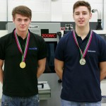 Medal winners Alex Elton and Conor Steptoe are great examples of the success that can be achieved as an apprentice at North Warwickshire & Hinckley College