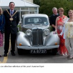 The vintage car collection will return at this year's Summer Fayre