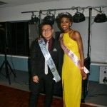 Abbey College Birmingham Prom King Eason Huang and Prom Queen Francisca Olekaibe