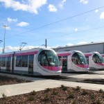 The four new Midland Metro trams set to go to go into service on September 5.