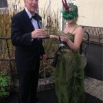 Dressed to impress for this year's KEMP Fashion Show, Bob Downall and Sophie Bishop.