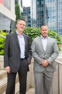 Mike Scotney (L) and Tim Morris (R) directors of Applause IT Recruitment