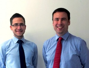 Stuart Colesby and Paul Woodford from Coversure