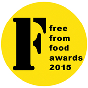 FreeFrom Food Awards 2015 logo