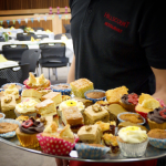 Don't these cakes look lovely? Hillscourt raise £1350 for Macmillan Cancer.