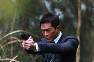 Louis Koo in Hong Kong crime thriller Z Storm, one of the films showing at the festival.