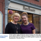 Amber Clarke (right) left Birches Head Academy ten years ago and went on to achieve a BTEC in Beauty Therapy at Stoke on Trent College. In 2012, Amber and her mother Yvonne (left) opened a beauty salon called BareBeauty in Stockton Brook.