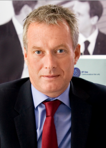 Andrew Small, vice-president, Unified Communications and Customer Relationship Management (CRM), BT Global Services