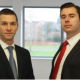 James Darby and Chris Keye, graduates from the Birmingham School of the Built Environment