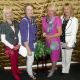 Looking stunning and ready for a Girls' Night Out, KEMP volunteers Cora Grove, Liz Kilgour, Carol Johnson and Linda Nicklass.