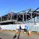 Construction of the new Wolverhampton youth zone in Worcester Street.