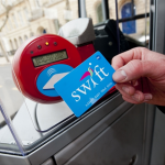 Passengers will be able to use smartcards at the redeveloped Birmingham New Street station from September 2015 as Swift is extended on to the local rail network.