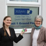 Jigsaw CCS Managing Director Rebecca Fahy, Operations Director Lorna Harling.