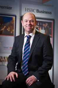 Gary Burton, HSBC's Regional Director of Corporate Banking for the Midlands