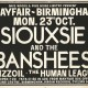Siouxsie Birmingham Poster: Original poster advertising punk gigs during the 1970s.