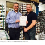 (l-r) Martin Haynes (Group Quality Manager) and Michael Warden (Quality Manager)