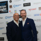 Masterchef judge Gregg Wallace and 'Yummy Brummie' Glynn Purnell at Glynn Purnell's Friday Night Kitchen which raised £60,000 for Cure Leukaemia.