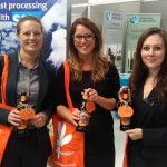 Staff from MFG Solicitors amongst the many lucky winners in Minster Micro's Halloween competition.