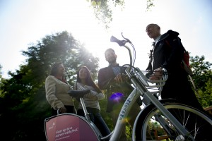University of Warwick introduces pioneering new campus cycle scheme 'UniCycles at Warwick'.