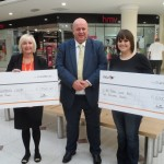 intu Potteries 2015 charity cheque presentation
