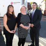 Codsall investment: (l-r) Rebecca McMullan, Melanie Blackburn and James Wright (all QualitySolicitors Talbots)