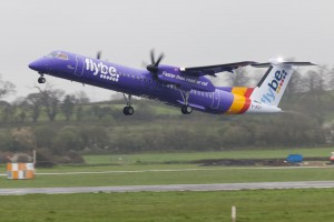Flybe purple plane (Photo by Theo Moye)