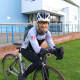 Lecturer Dave Saul has been training hard for the 70 mile challenge
